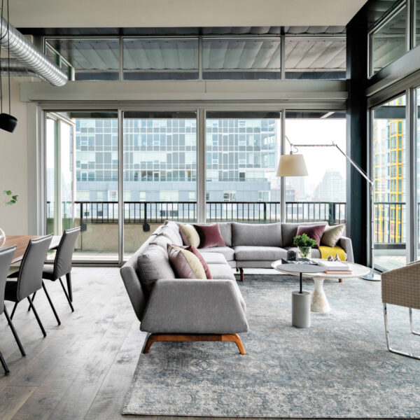 The Modern Seattle Loft That Serves As A Stunning Backdrop To Even More Striking Artwork