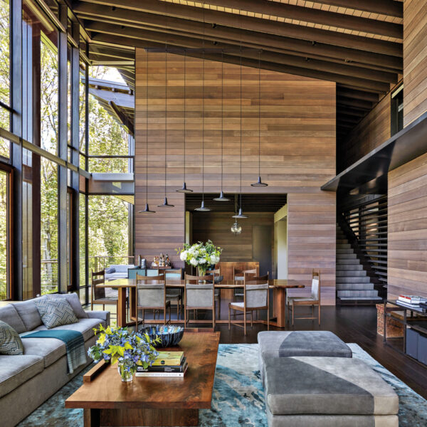 In The Pacific Northwest, Natural Beauty And Architectural Details Create A Dream Retreat