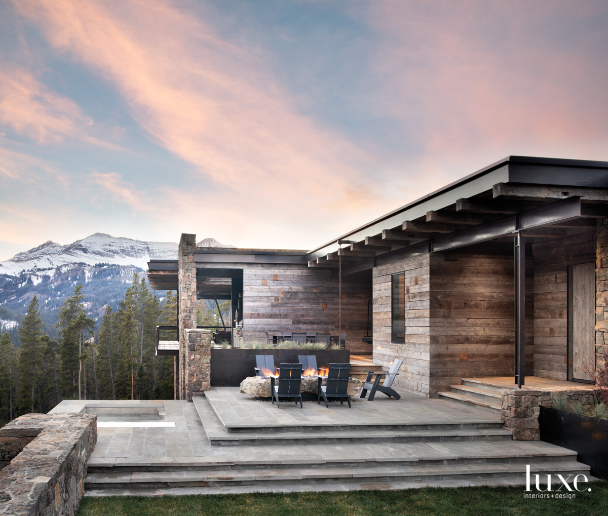 A Special Montana Dwelling Pays Tribute To The Mountains With Majestic Modesty {A Special Montana Dwelling Pays Tribute To The Mountains With Majestic Modesty} – English