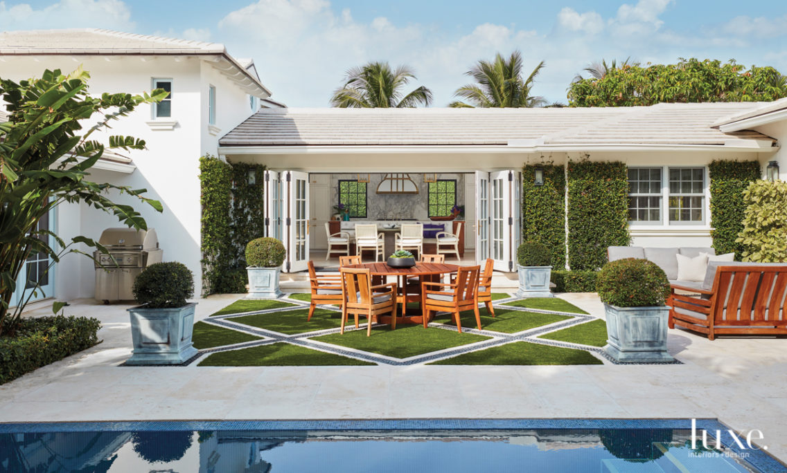 Zen Out In A Beautifully Layered Palm Beach Retreat With A Connection To The Outdoors