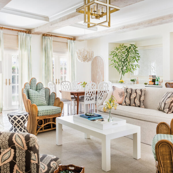Ties To An Iconic Palm Beach Hotel Inspire An Equally Chic Villa All About Simple Luxury