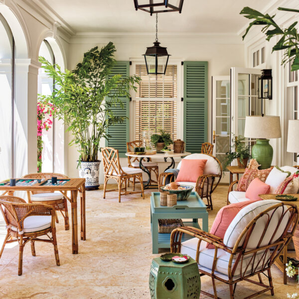 Let The Natural Light Pour In: A Caribbean-Style Home In Florida Honors The Past