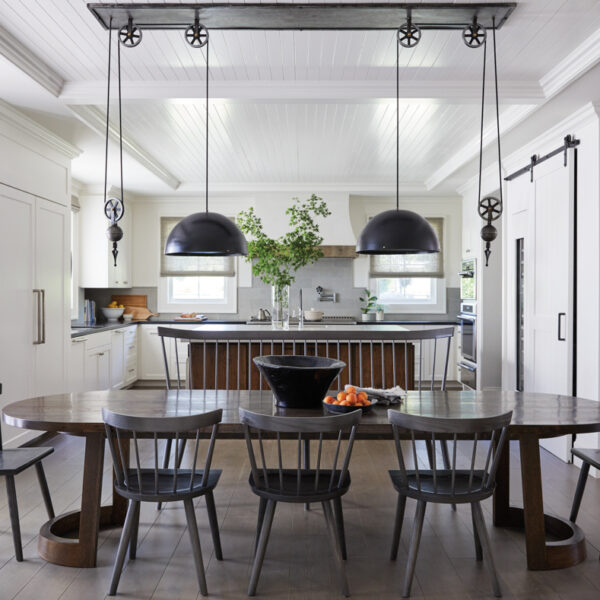 A California Wine Country Farmhouse Goes Industrial With Nods To Its Victorian Architecture