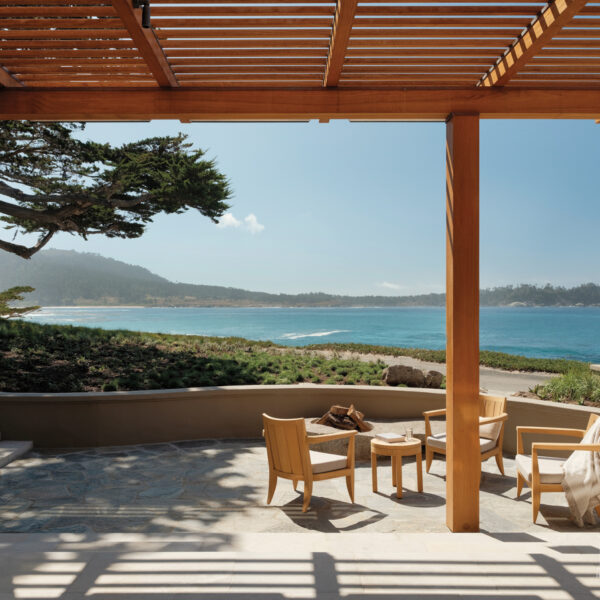 A Kick-Up-Your-Feet Mindset Infuses An Inspired Carmel Home At One With The Landscape