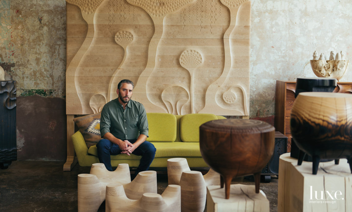 A Love For Home Fuels The Creative Energy For This Tennessee Furniture Craftsman