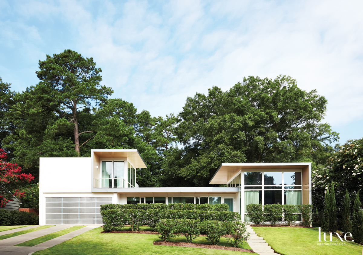 A Modern Raleigh Home All About The Outdoors Is A Leading Architect's Swan Song