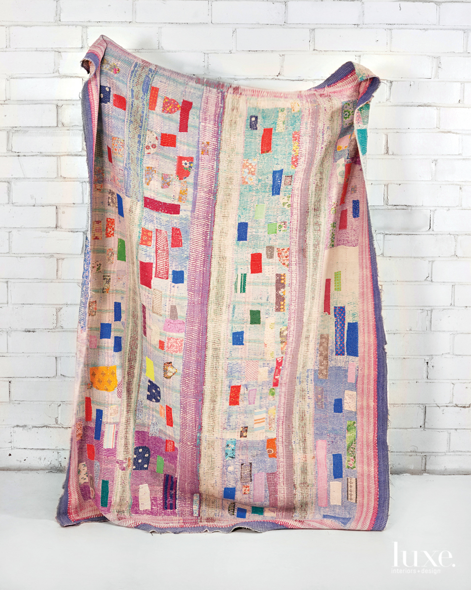 Discover The Colorful Textiles Inspired By This Creative's Indian Heritage And Love For Tradition