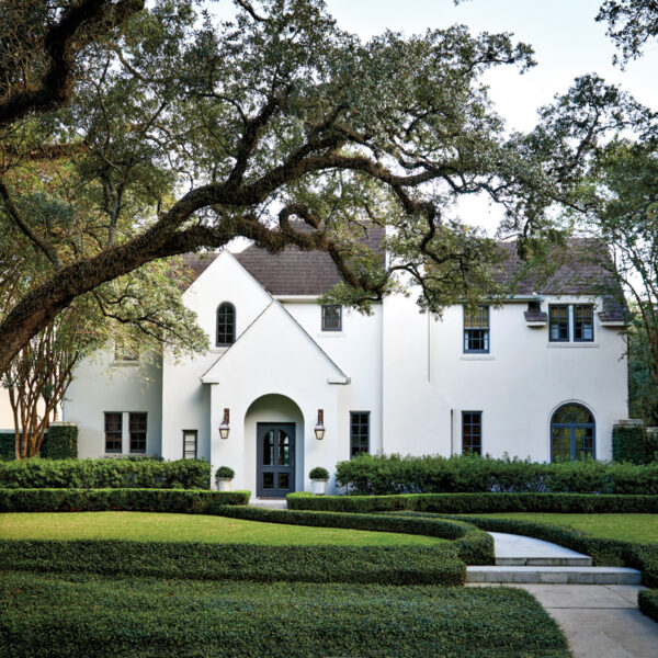 An Exquisite Houston Home Perfects The Recipe For Mixing Contemporary With Fine Antiques