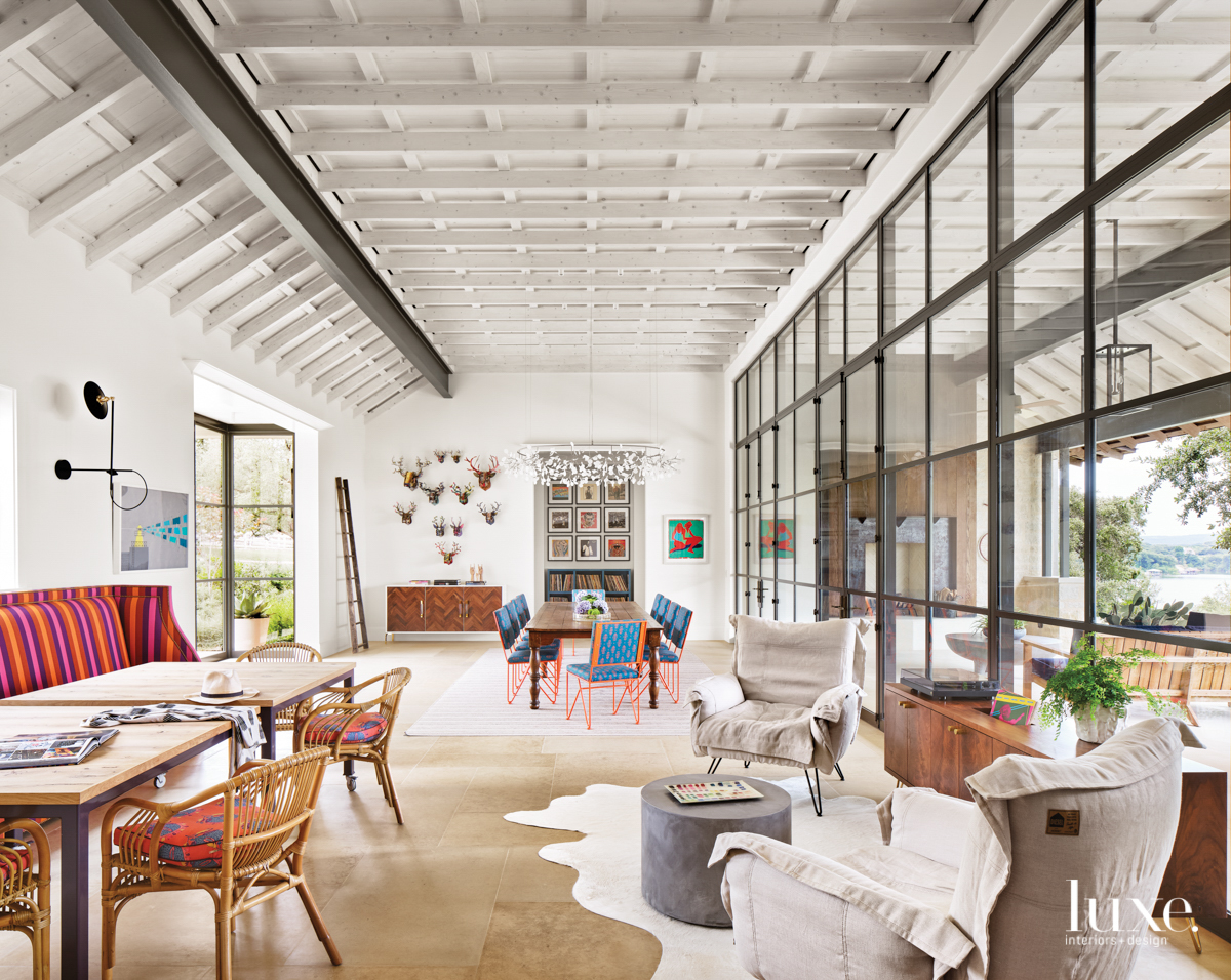 Ditch The Bunks: A Texas Home Channels A Sophisticated Summer Camp Vibe