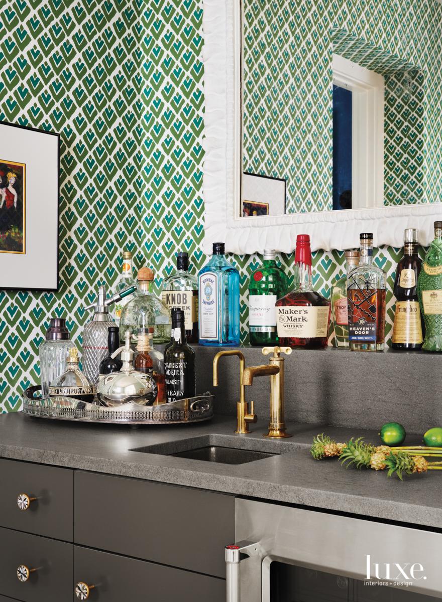 Bar area with Sarah &...