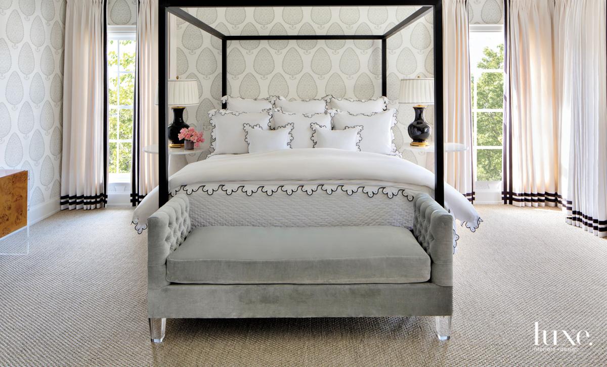 Master bedroom with Katie Ridder...