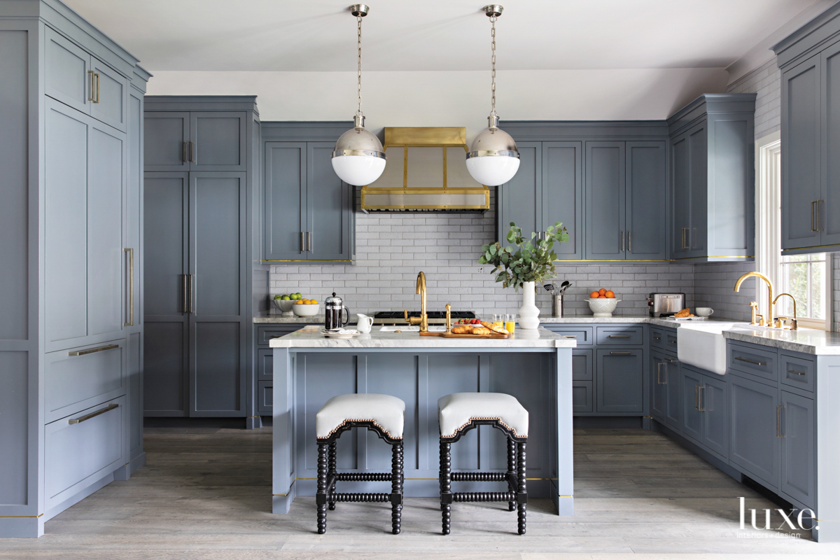 wolf gray kitchen cabinets and...