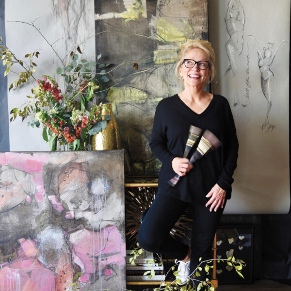 Pushing Your Boundaries Does Wonders For Creativity. Just Ask Designer And Artist Teresa Davis.