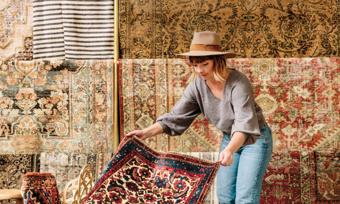 Once A Side Hustle, The Vintage Rug Shop Is All About Bringing Soul To A Space