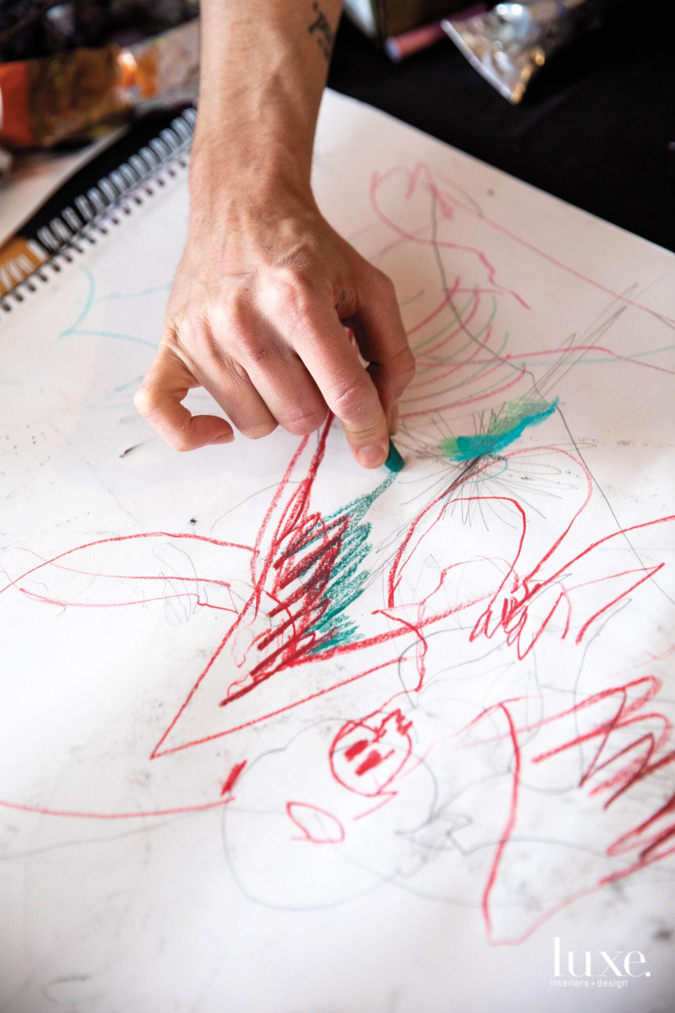 Damian drawing