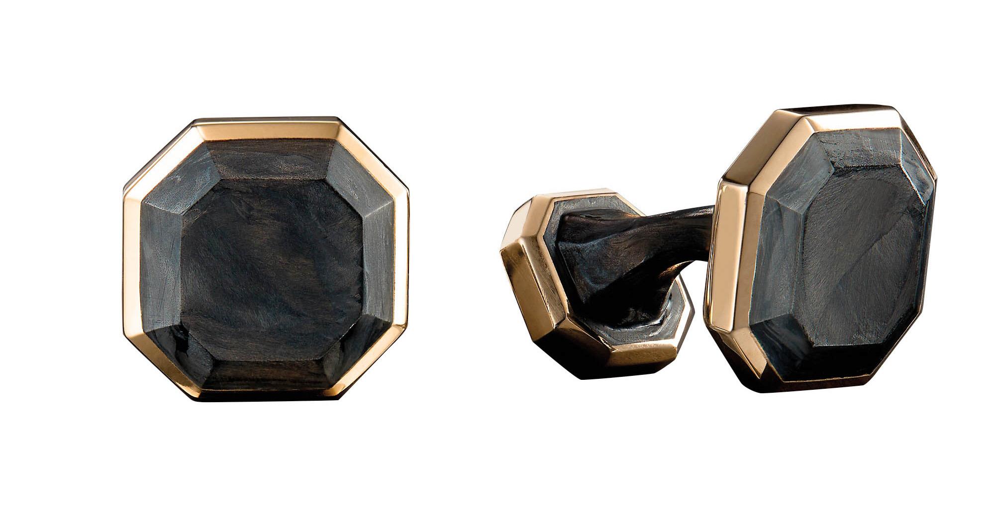 Forged Carbon Cufflinks