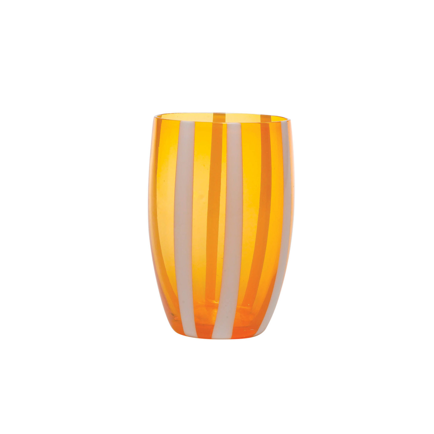 Gessato Tumbler in Orange