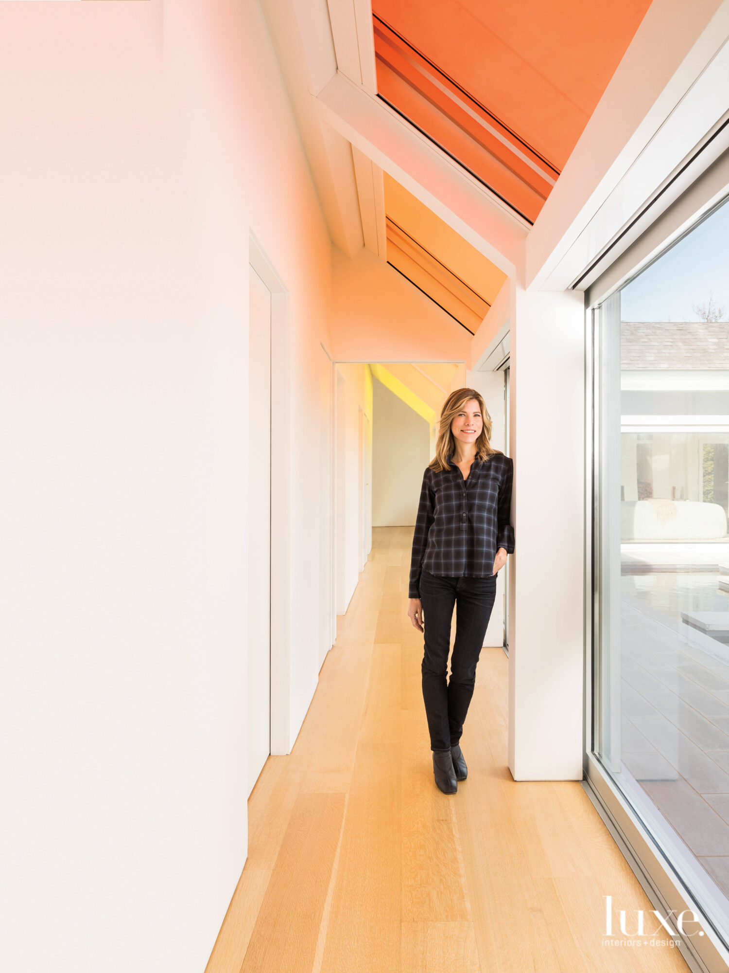 Architect Nina Edwards Anker in her Hamptons Cocoon House