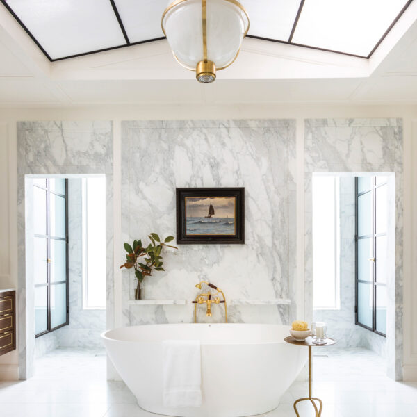 The Best Of This Dreamy Bathroom Redesign Lies In The Architectural Details