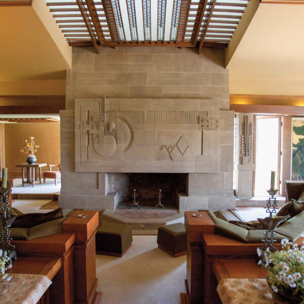 7 Key Pieces That Channel This Iconic Frank Lloyd Wright House