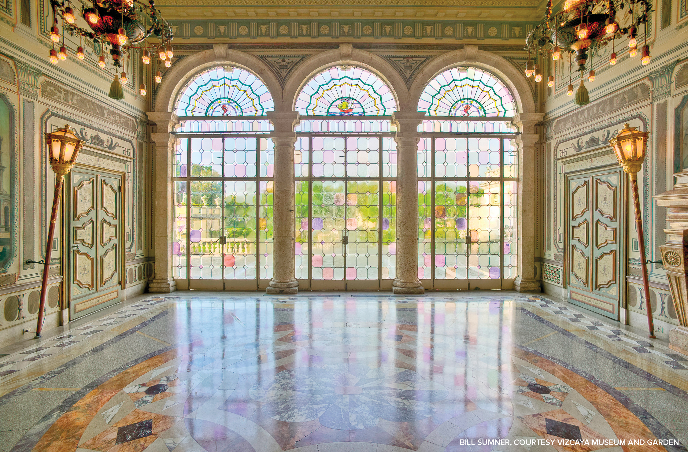 Shop Pieces As Glam As The Interiors Of Miami's Vizcaya Estate