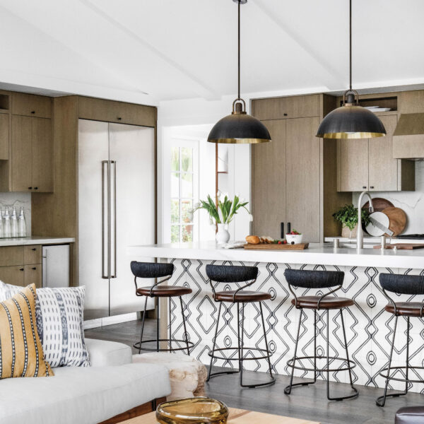 An Architect Friend's Visit Leads To A Full Renovation Of A Coastal Chic Laguna Beach Cottage