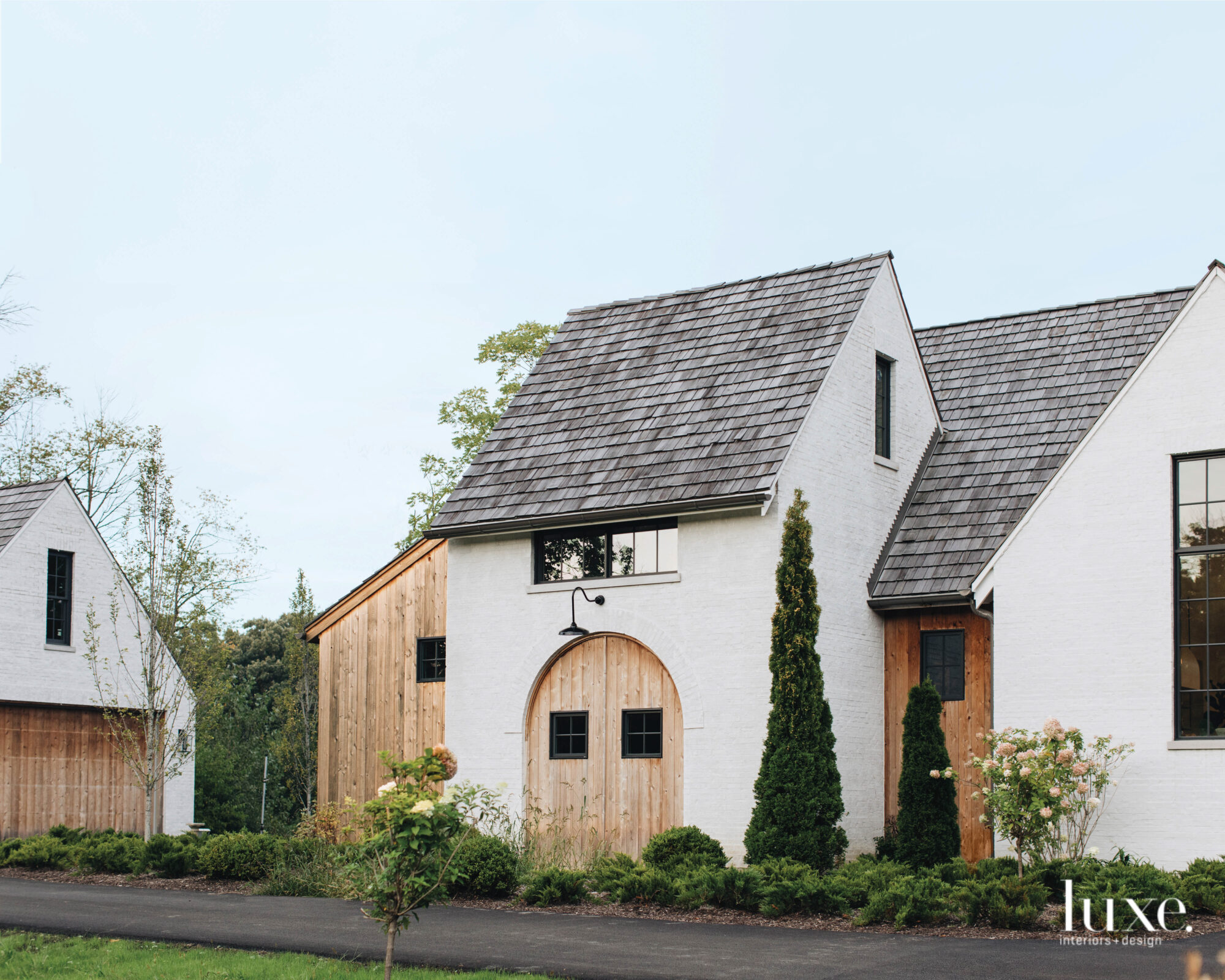 European farmhouse vibes radiate out...