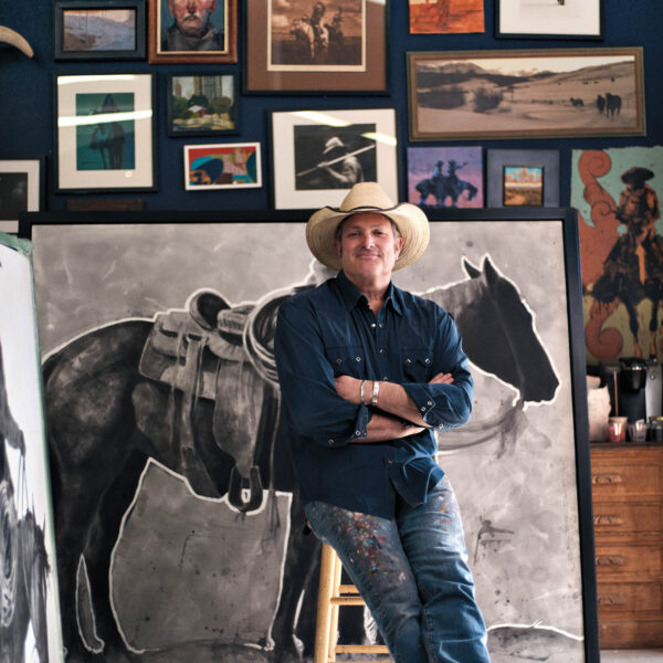 Cowboys Reimagined: A Denver Artist Takes To Canvas To Envision A Modern Wild West