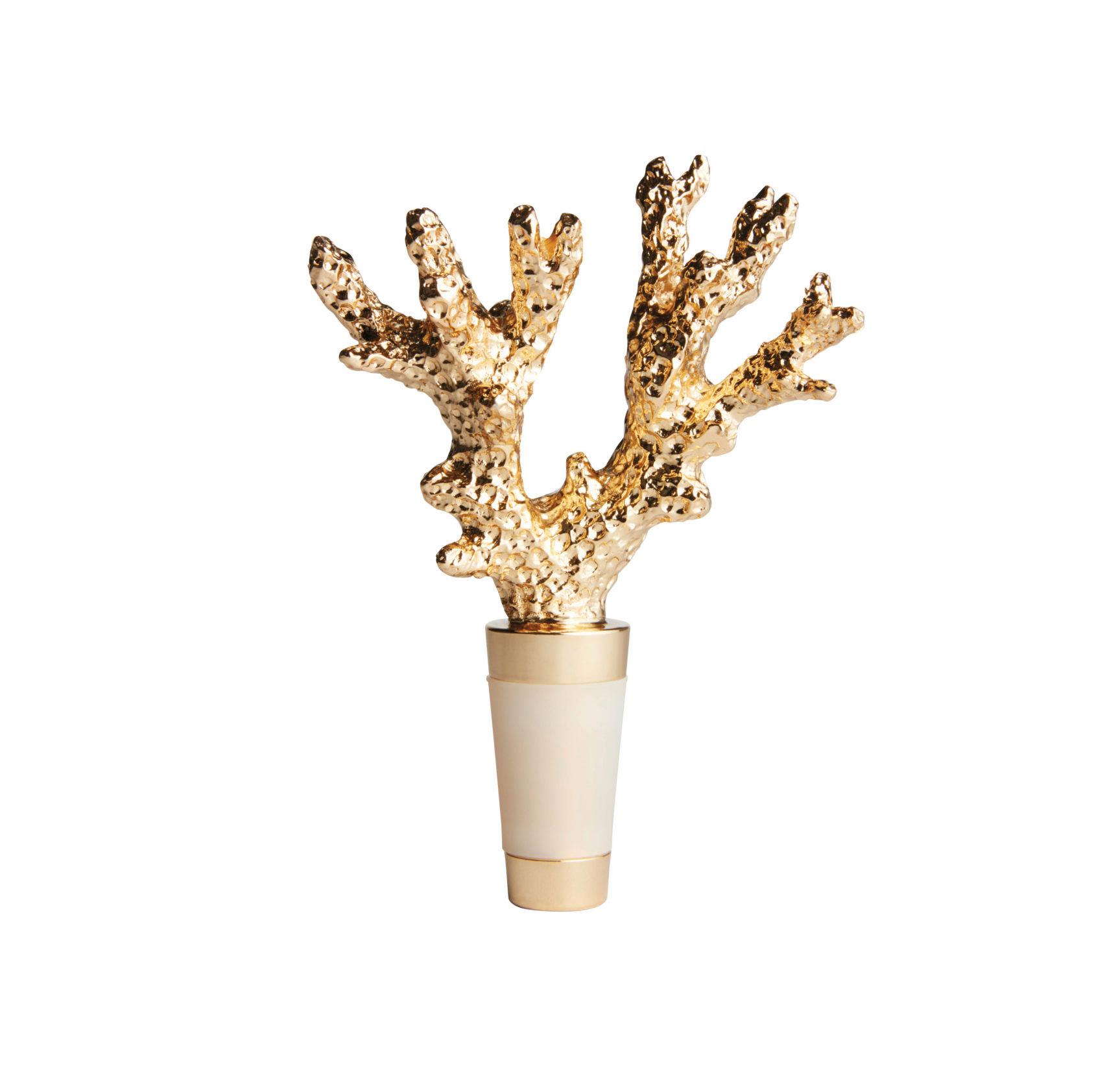 aerin miami edit coral bottle topper