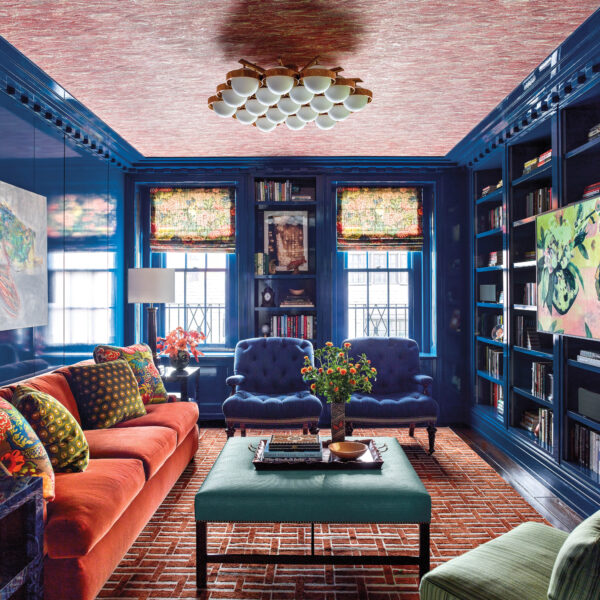 All About A Spunky Attitude: An UES Home Puts A Zingy Twist On The Traditional