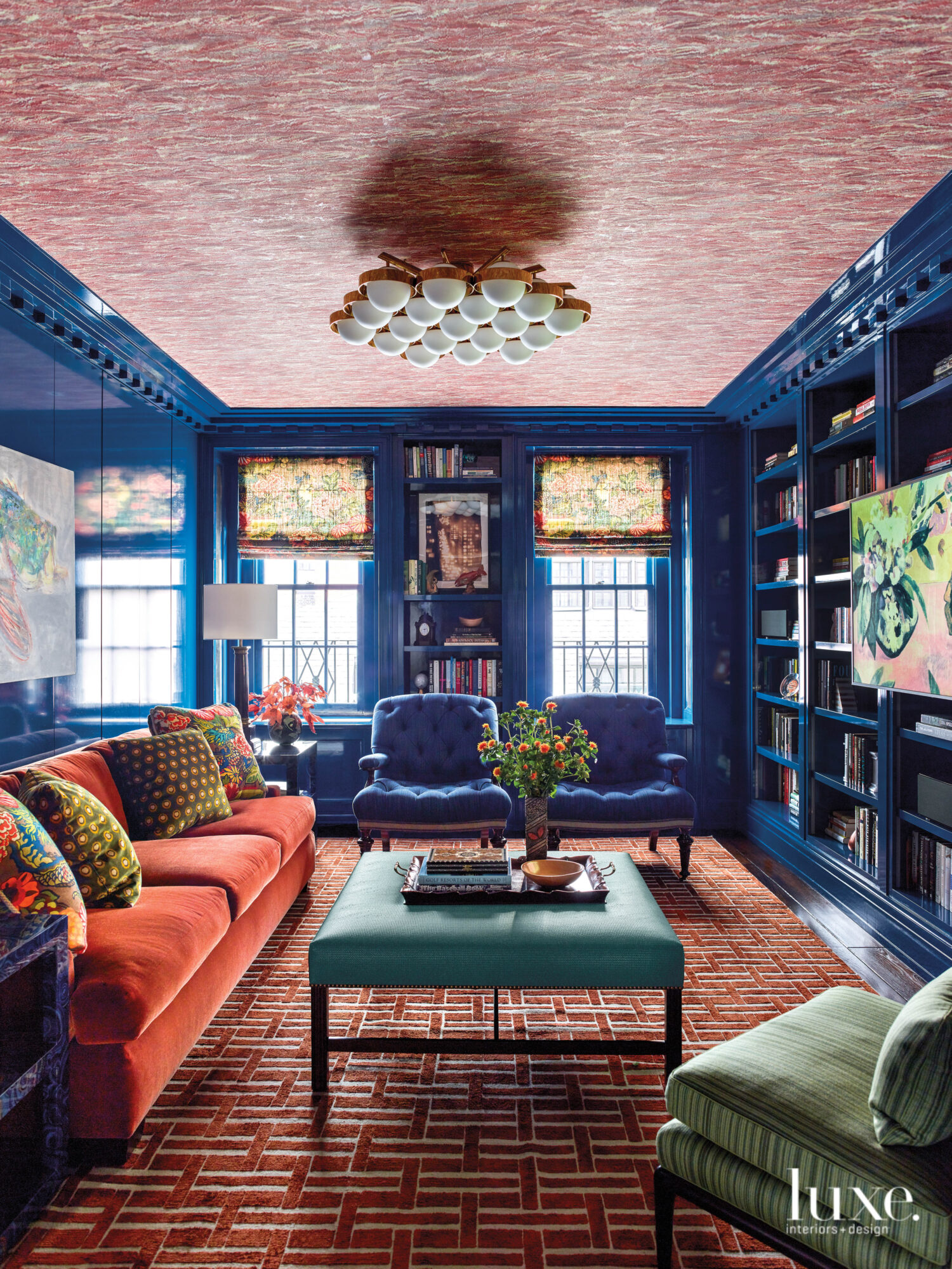 All About A Spunky Vibe: An UES Home Puts A Zingy Twist On The Traditional