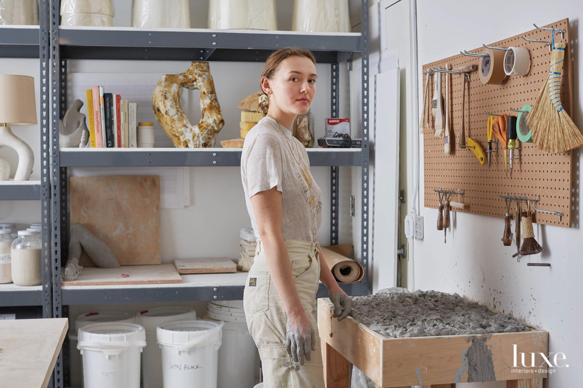 Kassandra Thatcher portrait in studio