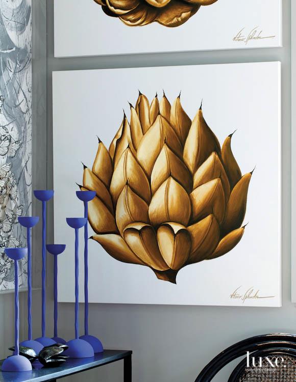 Painting at Lars Bolander showroom