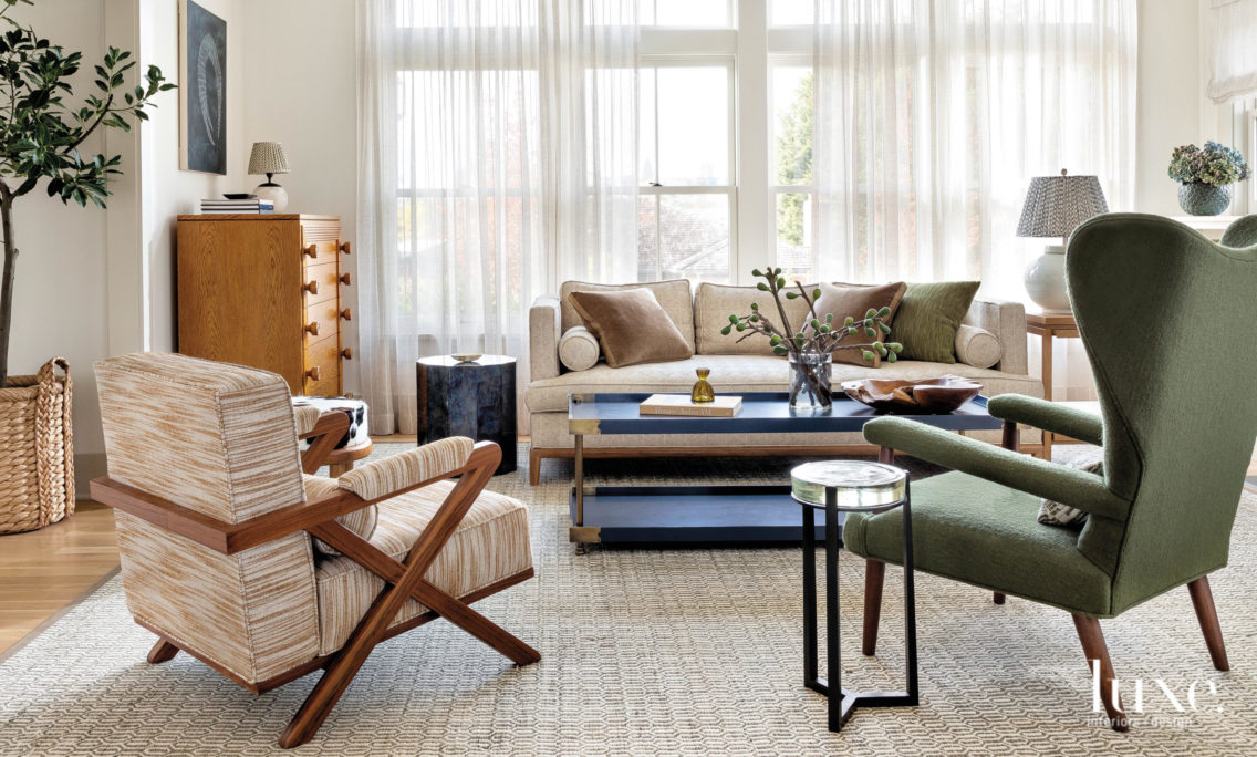 Comfort And Function Are Paramount In A Seattle Home