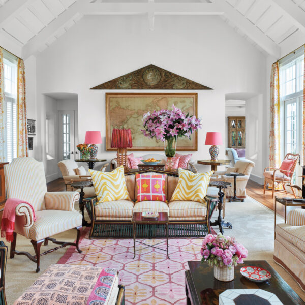 Beloved Pieces Beautifully Mix And Mingle In A Designer's Florida Vacation Home