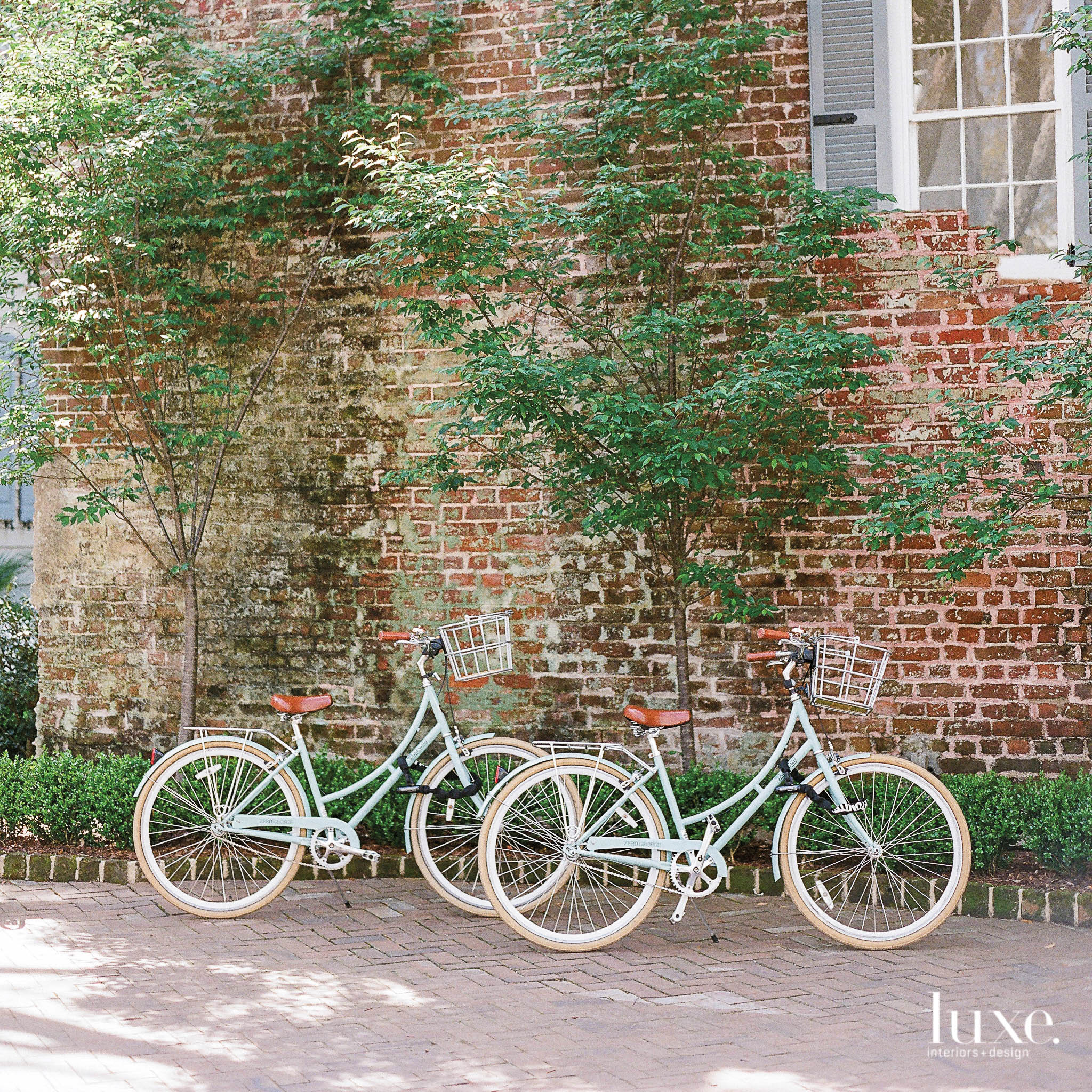 Bikes at Zero George