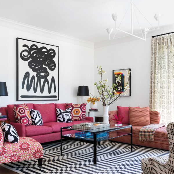 Never Underestimate The Power Of Vibrant Art: A Houston Home Mixes Playful Hues With Functional Style