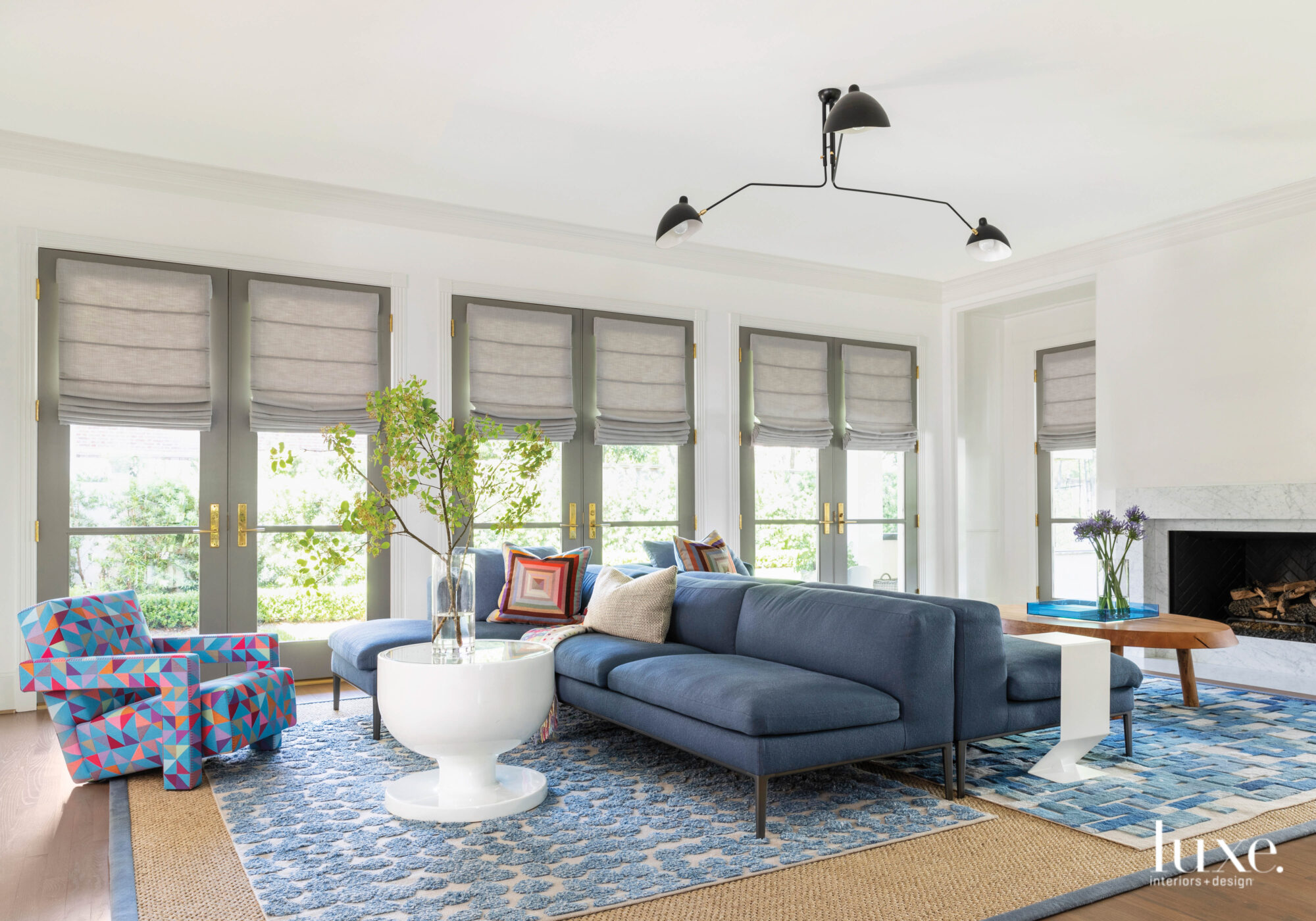 Bright and open multi-functional family room