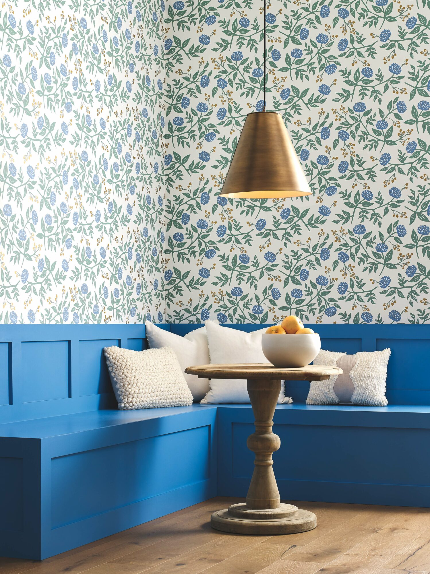 It's A Playful Prints Party With York Wallcoverings x Rifle Paper Co's New Collection