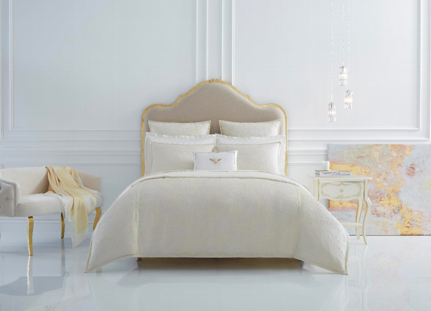 Sferra Dorato Collection cream gold bedding