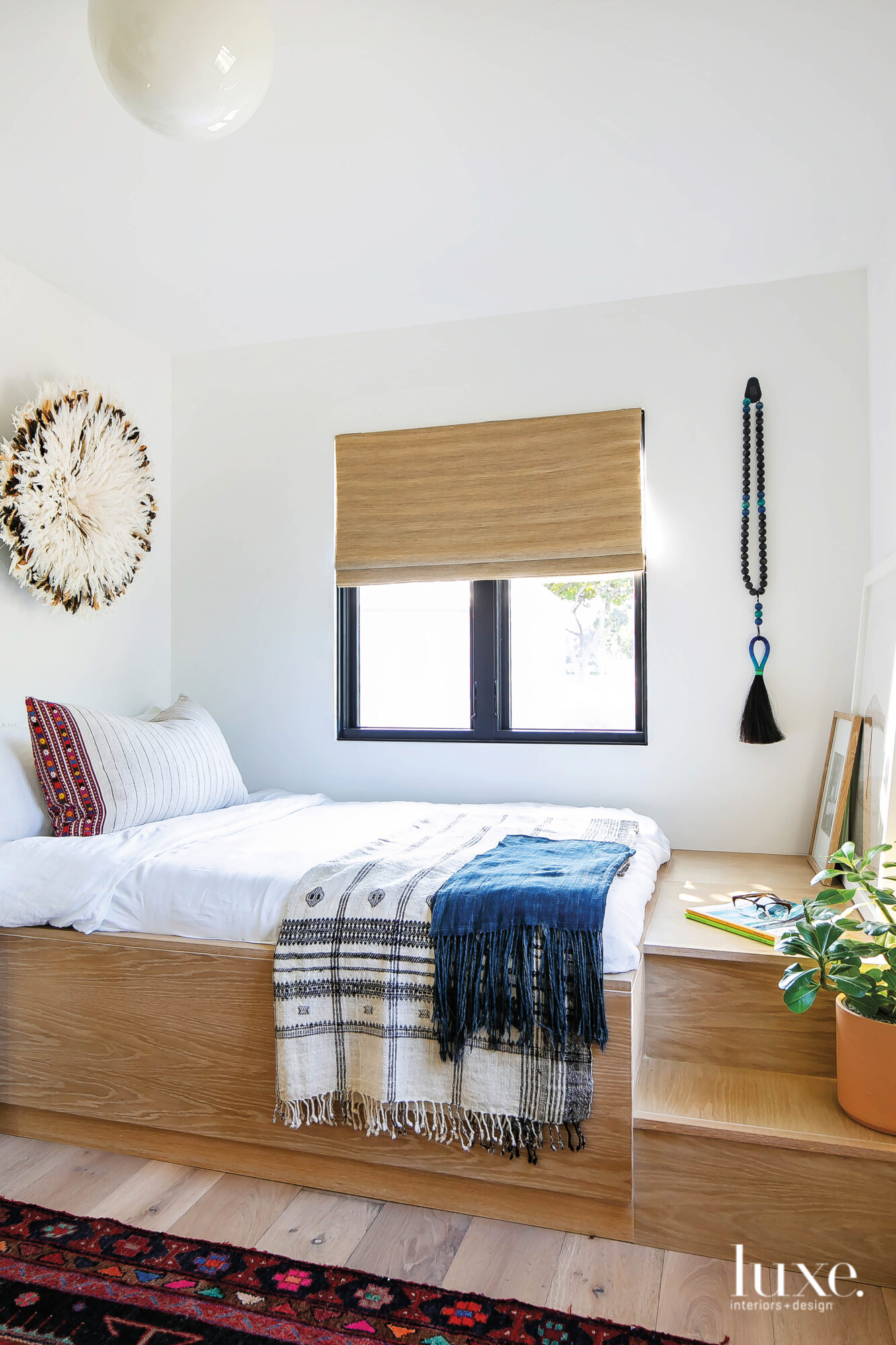 Guest room with built on...