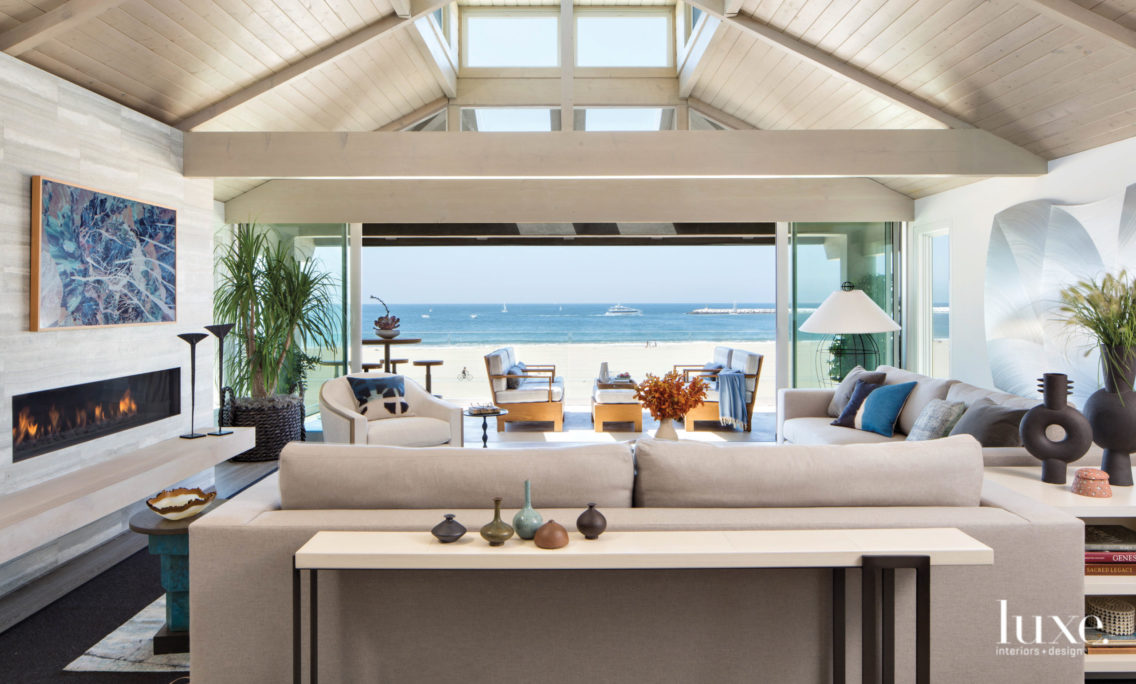 Consider The Zen-Like Transformation Of This NBA Great's California Home A Slam Dunk