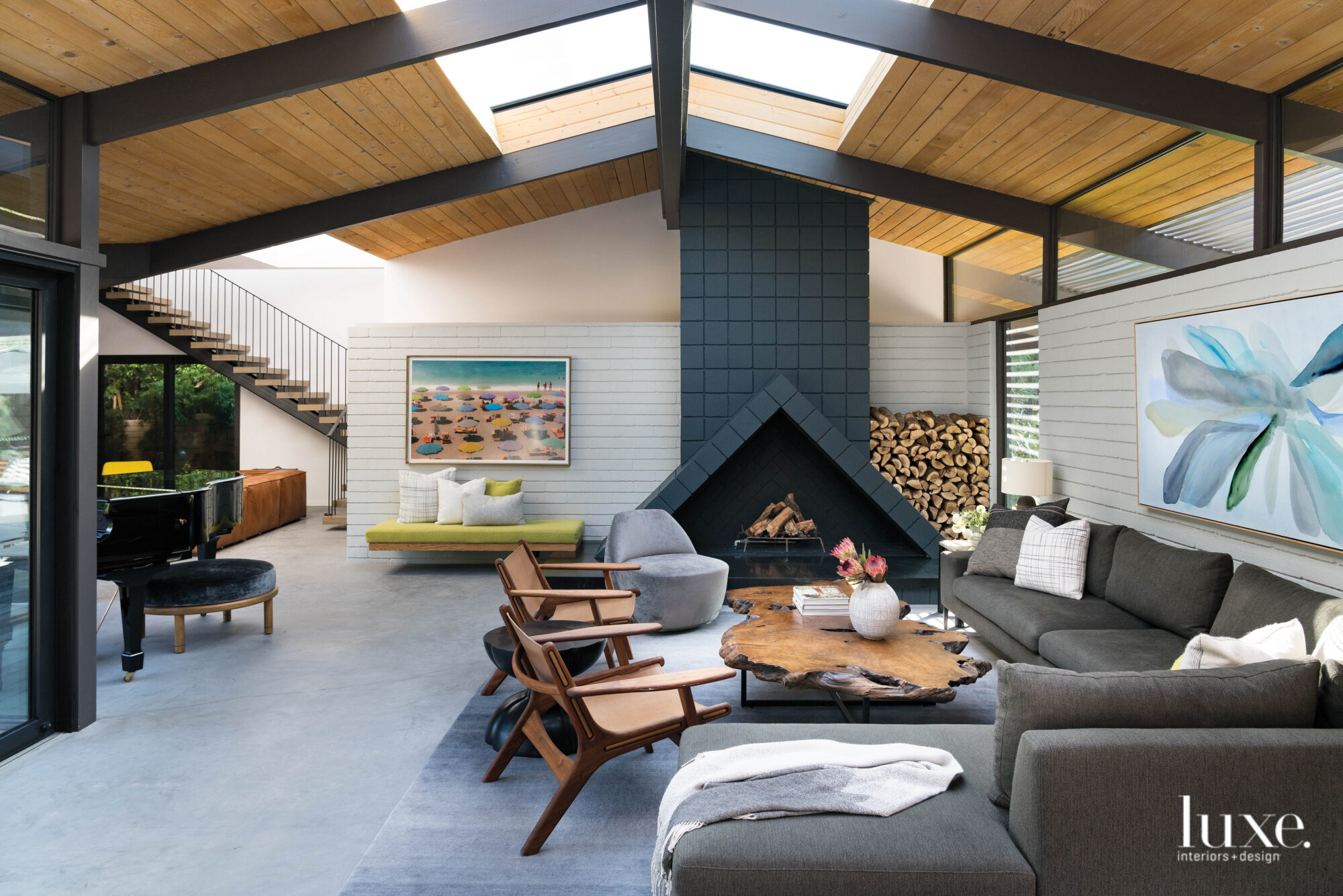 A Family's Modernist L.A. Home Gets A Livable Update