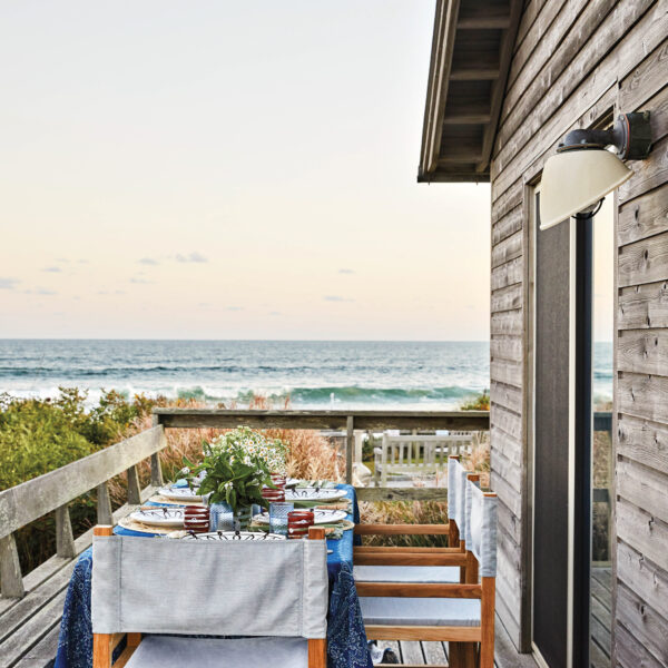 Dinner Alfresco? Count Us In. See The Humble Hamptons Retreat That Harbors This Perfect View