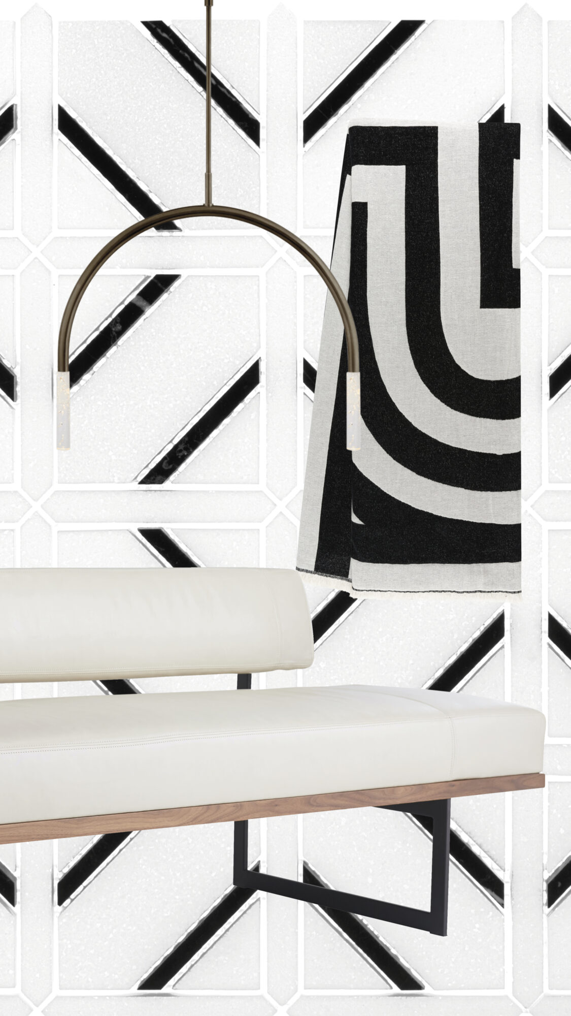 Up The Chic Factor Of Any Room With These Black-And-White Pieces Inspired By The Classic Color Combo