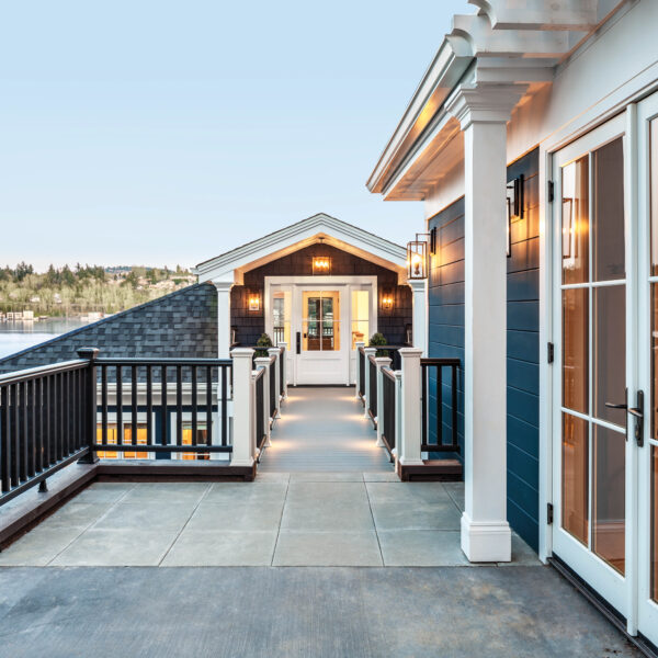 Call It Casual Comfort: A Daring Renovation Highlights A Washington Home's Lakeside Locale