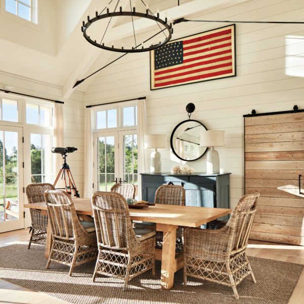 For A Coastal Washington Retreat, The Architects Look To The Classic Beach Cottages Of Cape Cod