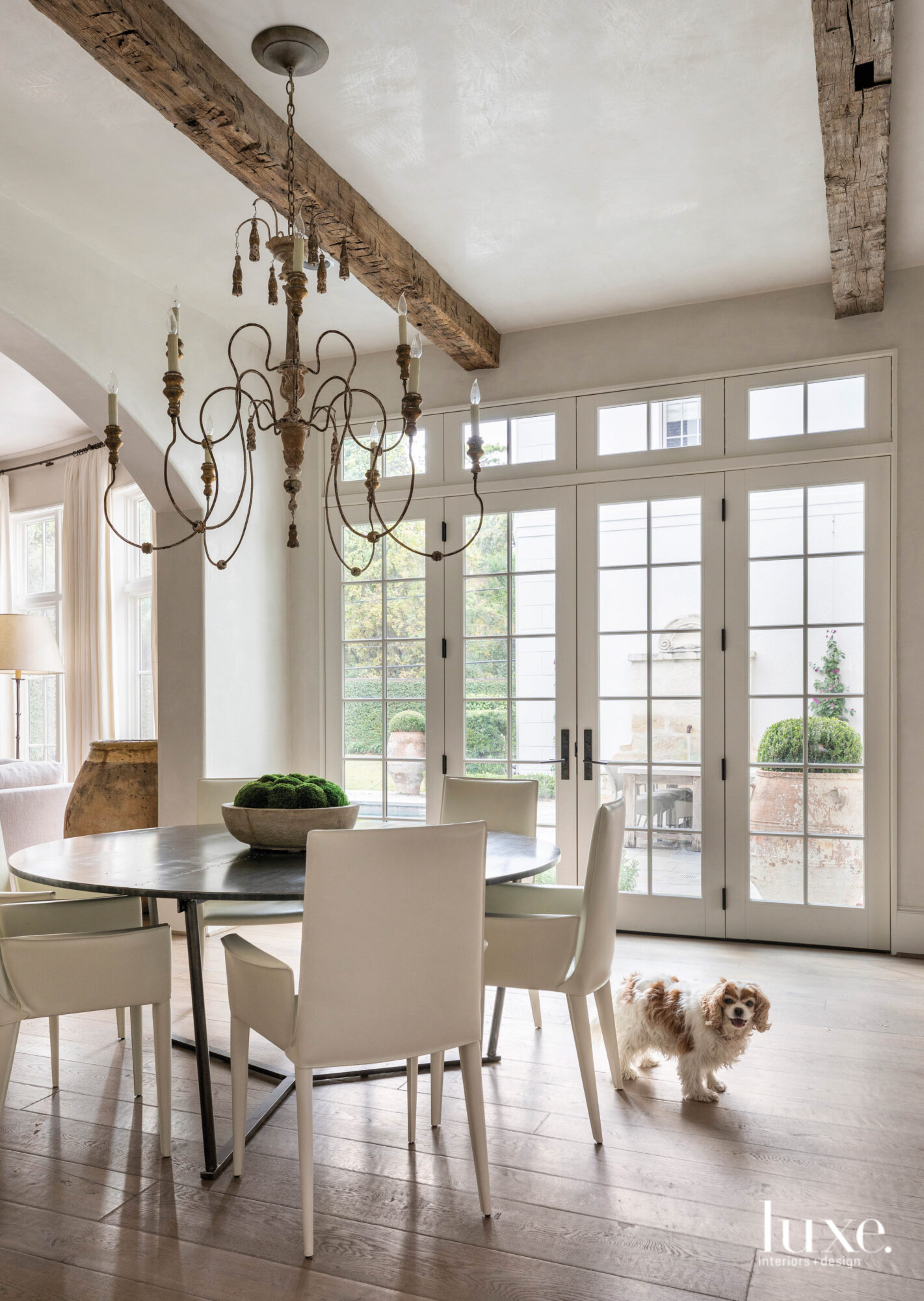 Light-filled breakfast area with neutral...