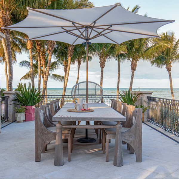 The Kelly Behun x The Invisible Collection Collab Gives Us One More Reason To Love Outdoor Dining