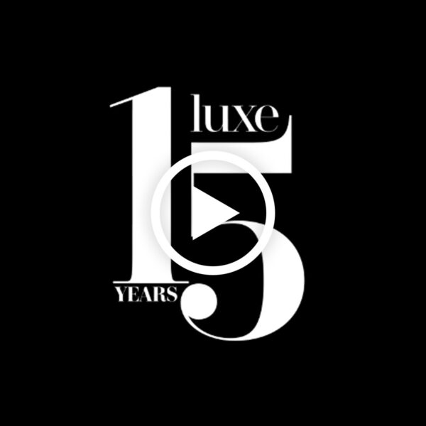 On Its 15th Birthday, LUXE Celebrates The Power Of Design And Debuts A New Look And Logo